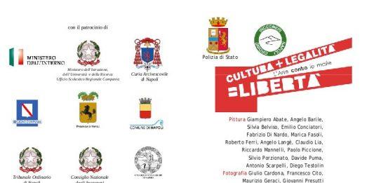 Cultura + Legalità = Libertà.  L'arte contro le mafie