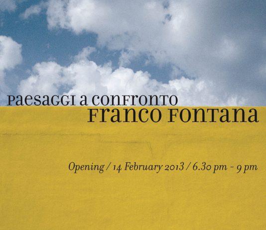 Franco Fontana – Paesaggi a confronto