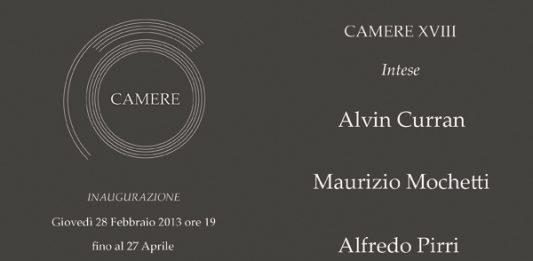Camere XVIII Intese – Curran | Mochetti | Pirri