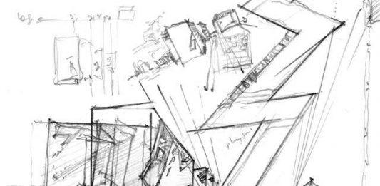Disegni architettonici di Daniel Libeskind