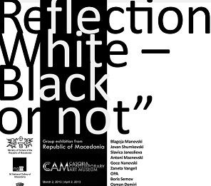 Reflection; White. Black or not