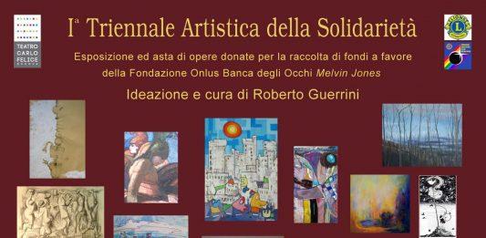 Triennale Artistica della Solidarietà – Teatro Carlo Felice – a favore della Fondazione Onlus Banca degli Occhi Melvin Jones