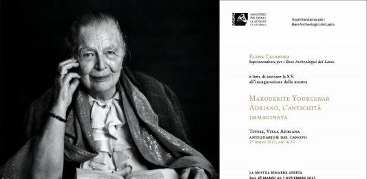 MARGUERITE YOURCENAR – ADRIANO, L'ANTICHITA' IMMAGINATA