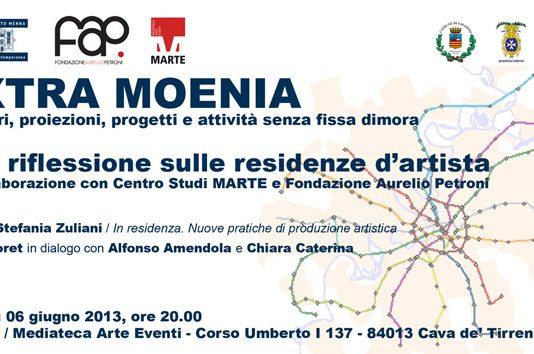 Extra Moenia. Una riflessione sulle residenze d'artista