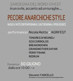Pecore Anarchiche Style / Nicola Mette+ AgriFest