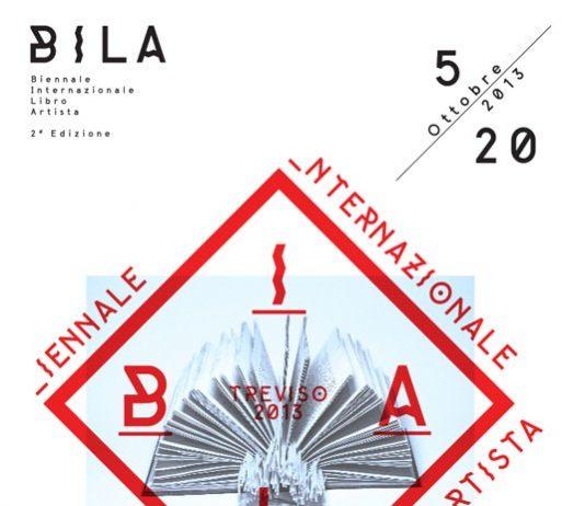 B.I.L.A 2°edizione Biennale Internazionale del Libro D'Artista Treviso Regione Veneto