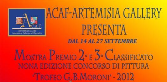 Mostra premio per il 2° e 3°classificato alla nona edizione del concorso internazionale di pittura G.B. Moroni 2012