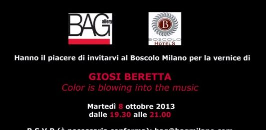 Giosi Beretta – Color is blowing into the music