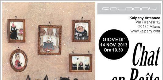 Maddalena Gerli – Chat en Boîte