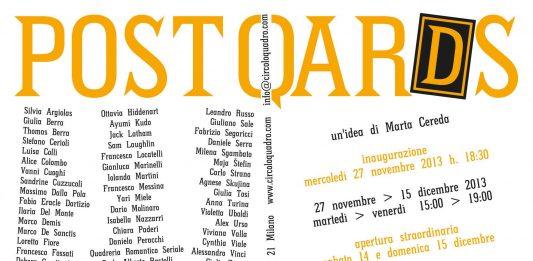 PostQards | 50 artisti e 250 opere