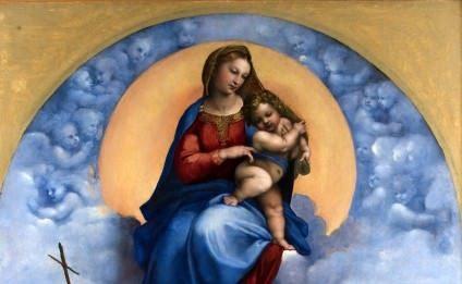 Raffaello a Milano. La Madonna di Foligno