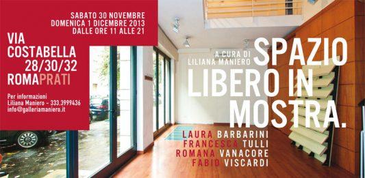 Via Costabella 28/30/32 Spazio libero in mostra