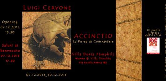 Luigi Cervone – Accinctio – La Forza di Combattere