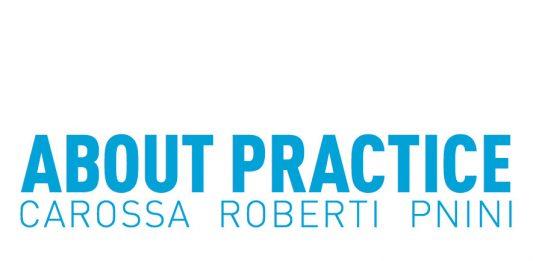 Arianna Carossa / Marta Roberti / Tom Pnini – About Practice