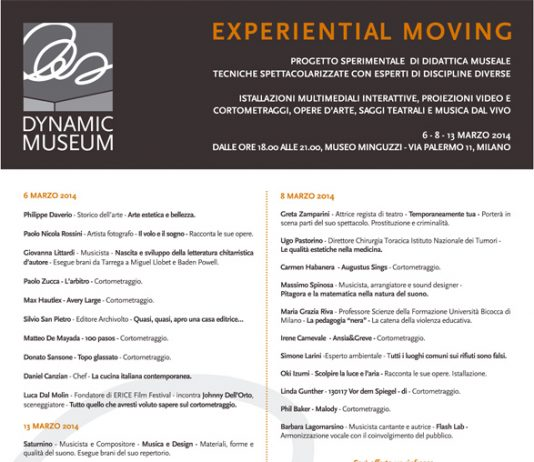 Experiental Moving