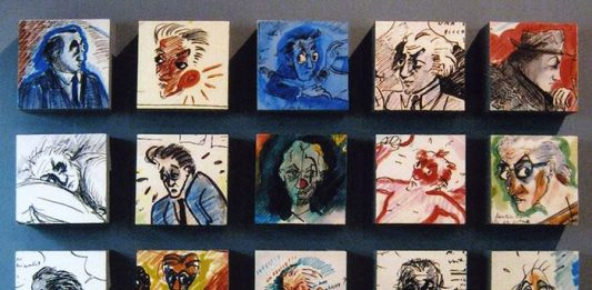 I disegni di Federico Fellini