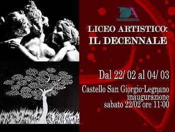 Liceo artistico Carlo Dell'Acqua: il decennale