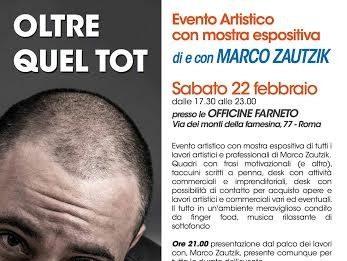 Marco Zautzik – OLTRE QUEL TOT