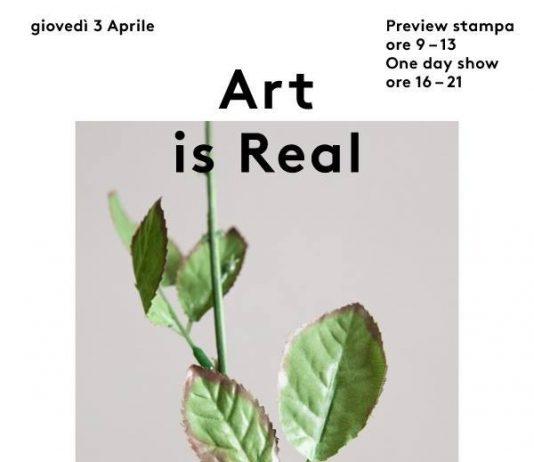 ART IS REAL  Una collezione impermanente