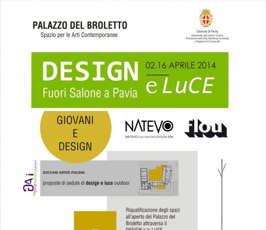 DESIGN e LUCE – fuorisalone a Pavia