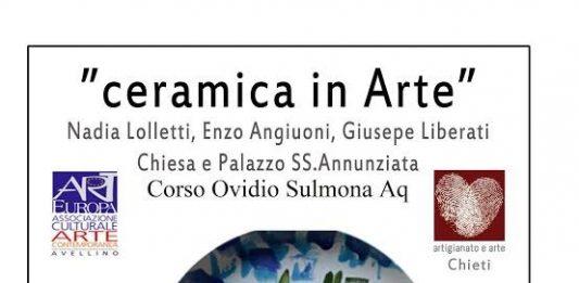 Ceramica in arte