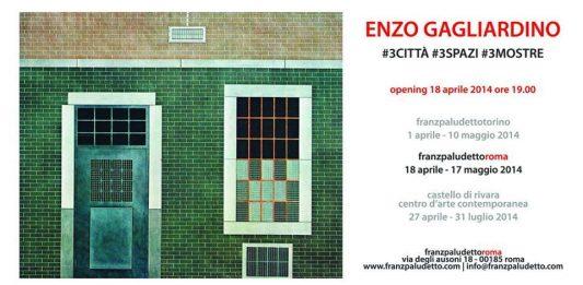 Enzo Gagliardino – #3CITTA' #3SPAZI #3MOSTRE
