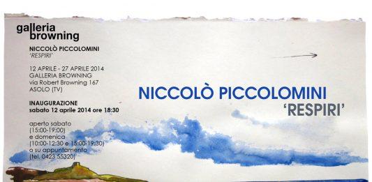 Niccolò Piccolimini – Respiri