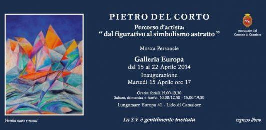 Pietro Del Corto – Percorso d'artista: dal figurativo all'astratto