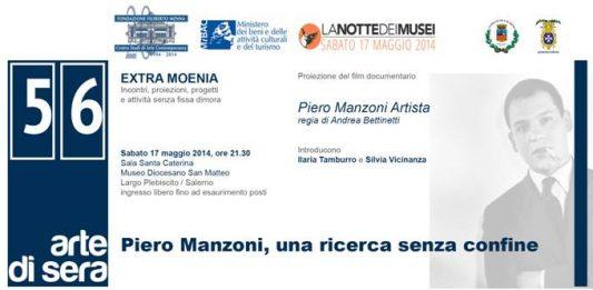 Notte dei musei. Arte di sera 56: Piero Manzoni – Una ricerca senza confine