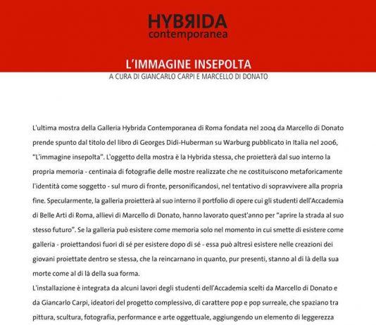 Hybrida Contemporanea – L'immagine insepolta