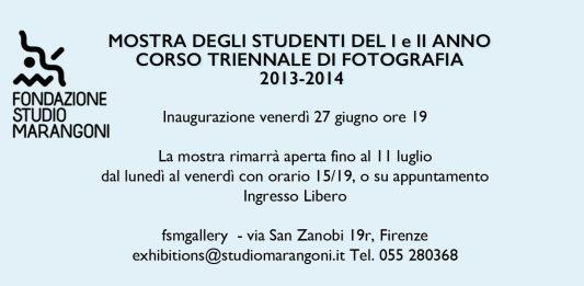 Mostra degli studenti del I e II anno Corso Triennale di Fotografia