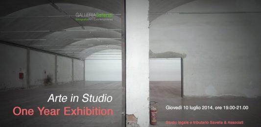 Arte in Studio 2. One Year Exhibition