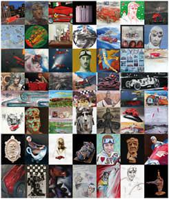 Artisti per Nuvolari. Seconda rassegna 2014