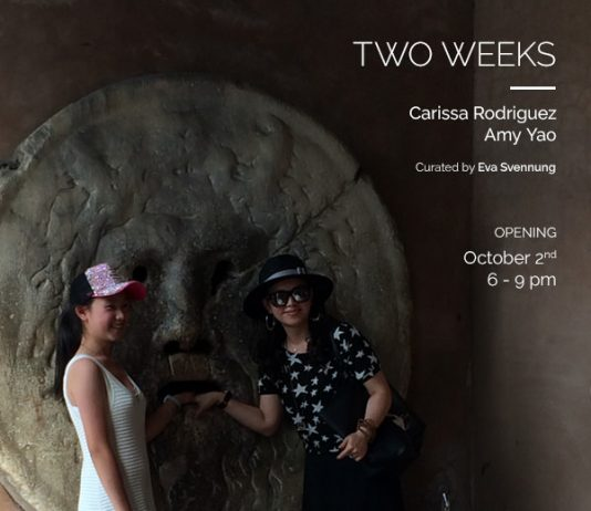 Carissa Rodriguez / Amy Yao – Two Weeks