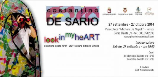Costantino De Sario – Look in my heART