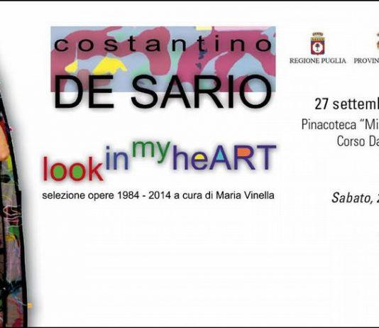 Costantino De Sario – Look in my heART