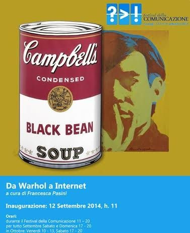 Da Warhol a Internet