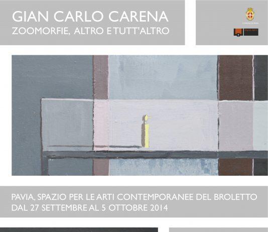 Gian Carlo Carena – Zoomorfie, altro e tutt'altro