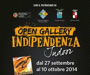 Open Gallery Indipendenza 2014
