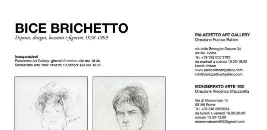 Bice Brichetto – Dipinti, disegni, bozzetti e figurini 1958-1999