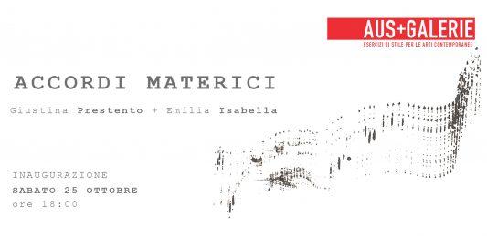 Giustina Prestento / Emilia Isabella – Accordi Materici