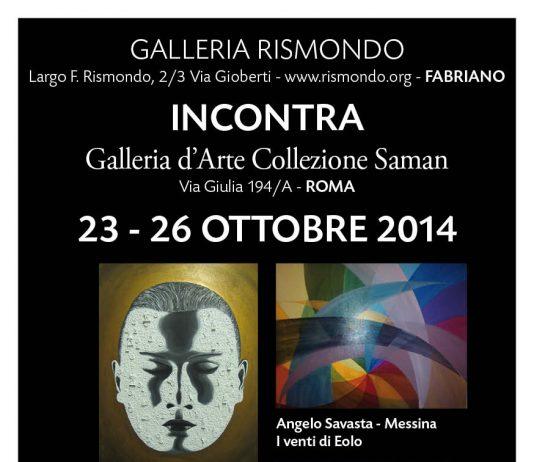 Rismondo incontra Collezione Saman – La Galleria d'Arte di Fabriano in gemellaggio col Centro Storico della Capitale