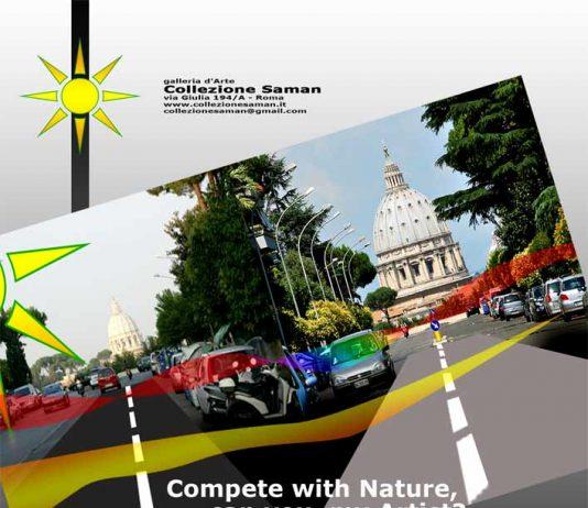 Contrazione del Mondo apparente – Competere in creatività con la Natura, e' possibile?
