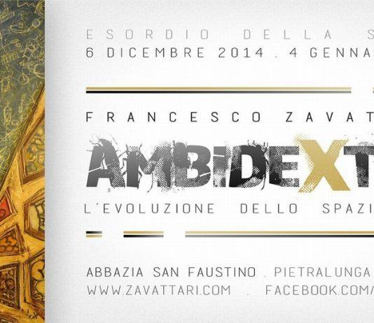 Francesco Zavattari – Ambidexter – L'evoluzione dello spazio/tempo