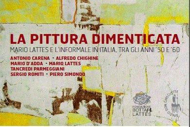 La pittura dimenticata. Mario Lattes e l'Informale in Italia, tra gli anni  '50 e '60
