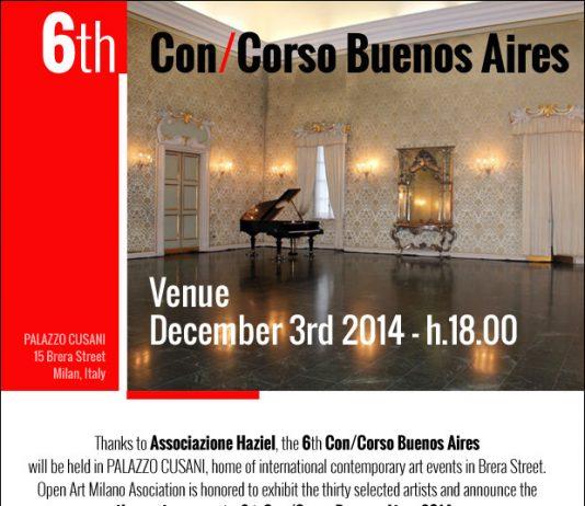 Premiazione tre finalisti VI ConCorso Buenos Aires