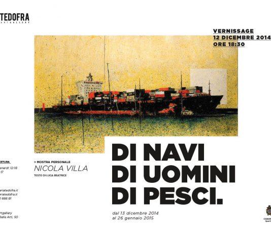 Nicola Villa – Di navi, di uomini, di pesci