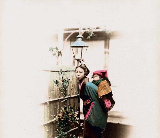 Painted background. Fotografia e Pittura in Giappone nell'Ottocento