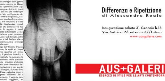 Alessandro Reale – Differenza e Ripetizione