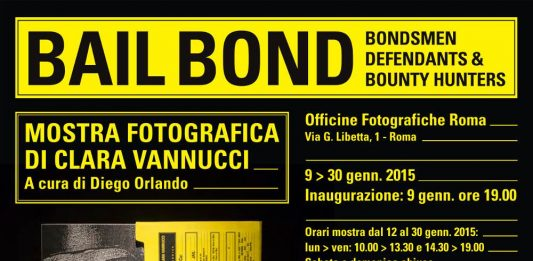 Clara Vannucci  – Bail Bond – bondsmen, defendants e bounty hunters